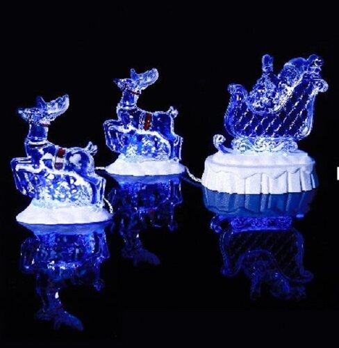 Светящиеся декоративные фигурки для украшения дома