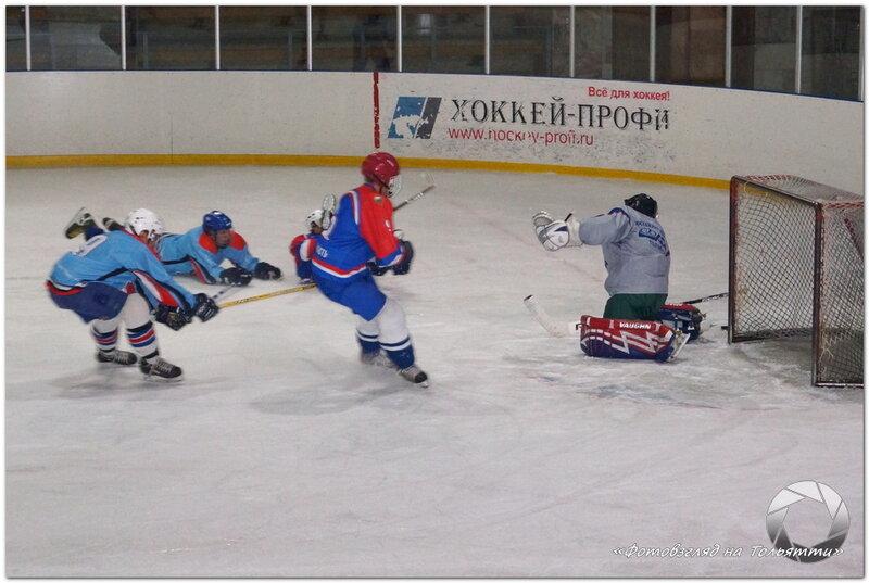 Тольяттинская любительская хоккейная лига. МВД - Титан