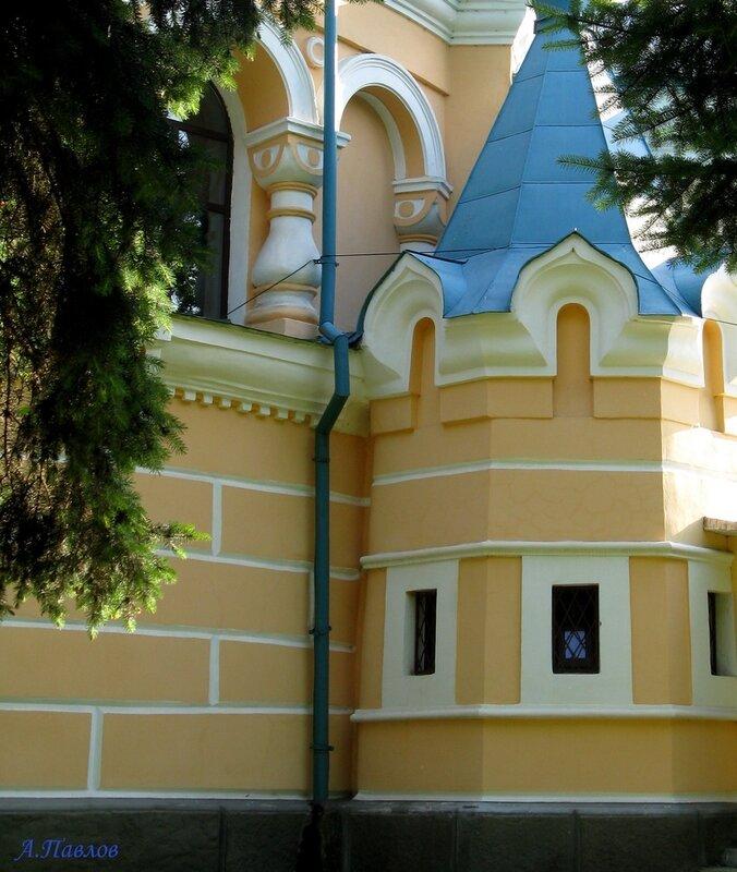 Унгены - храм Александра Невского (16).JPG