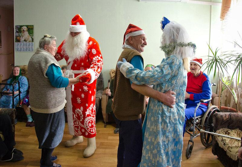 Новый год мероприятия для пожилых людей