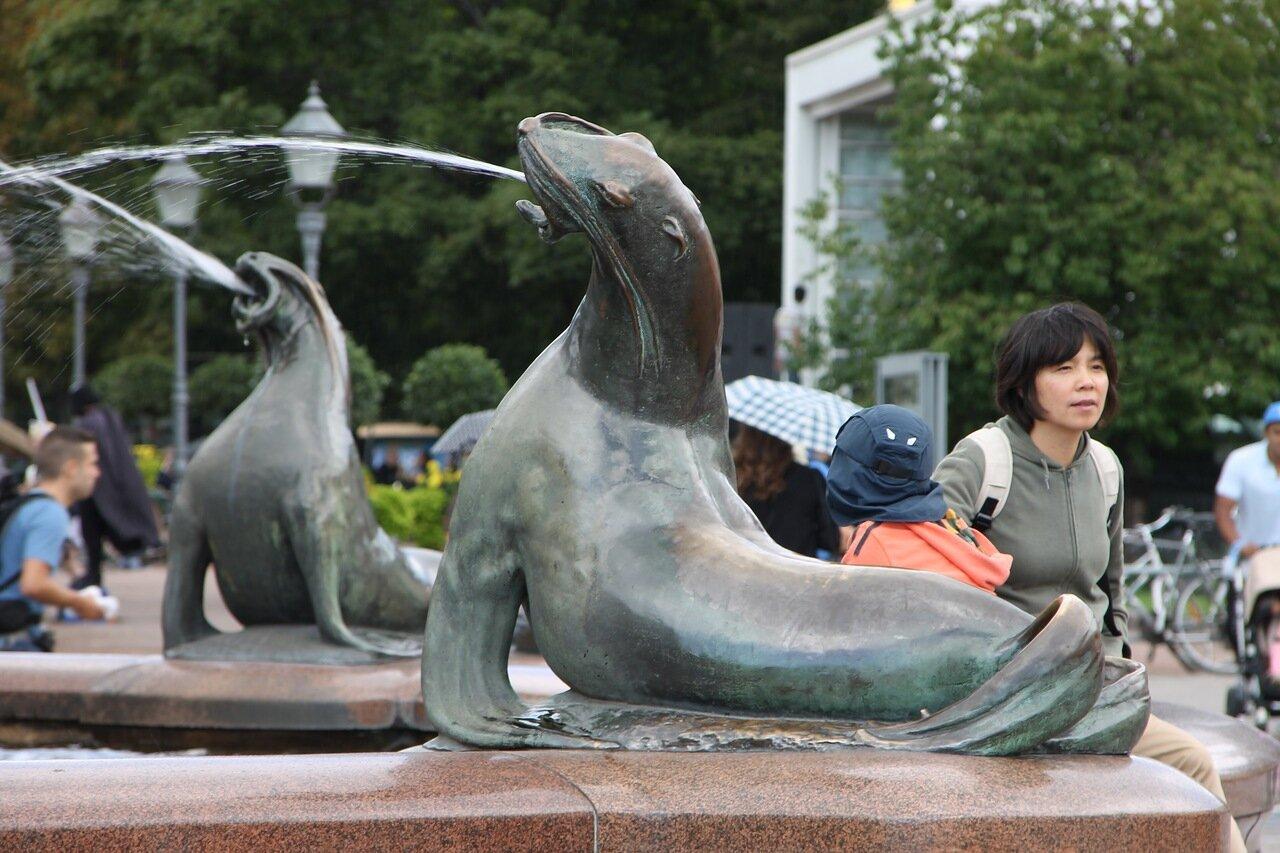Helsinki. Havis Amanda or 'Shameless Amanda' fountain