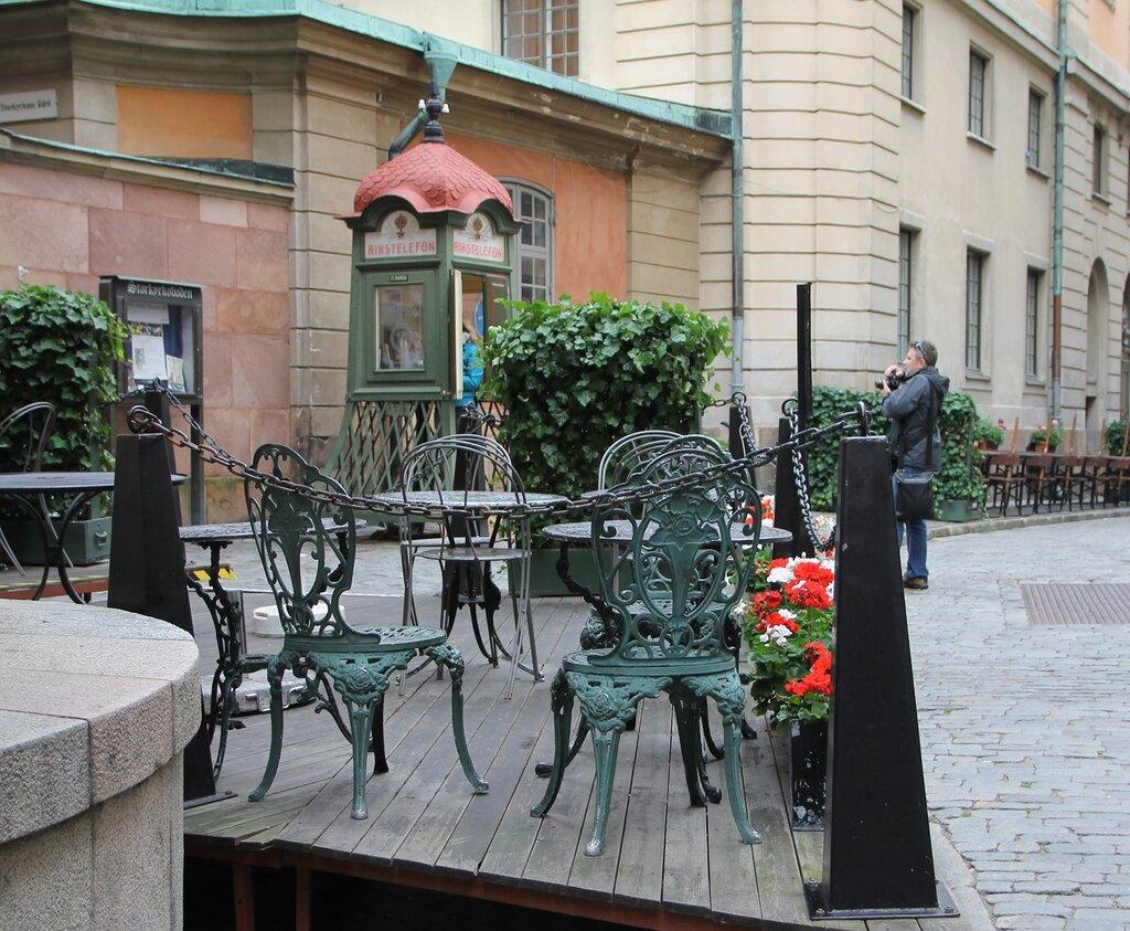 Стокгольм, Гамла Стан,  Улица Тренгсунд. Trångsund. Stockholm, Gamla Stan