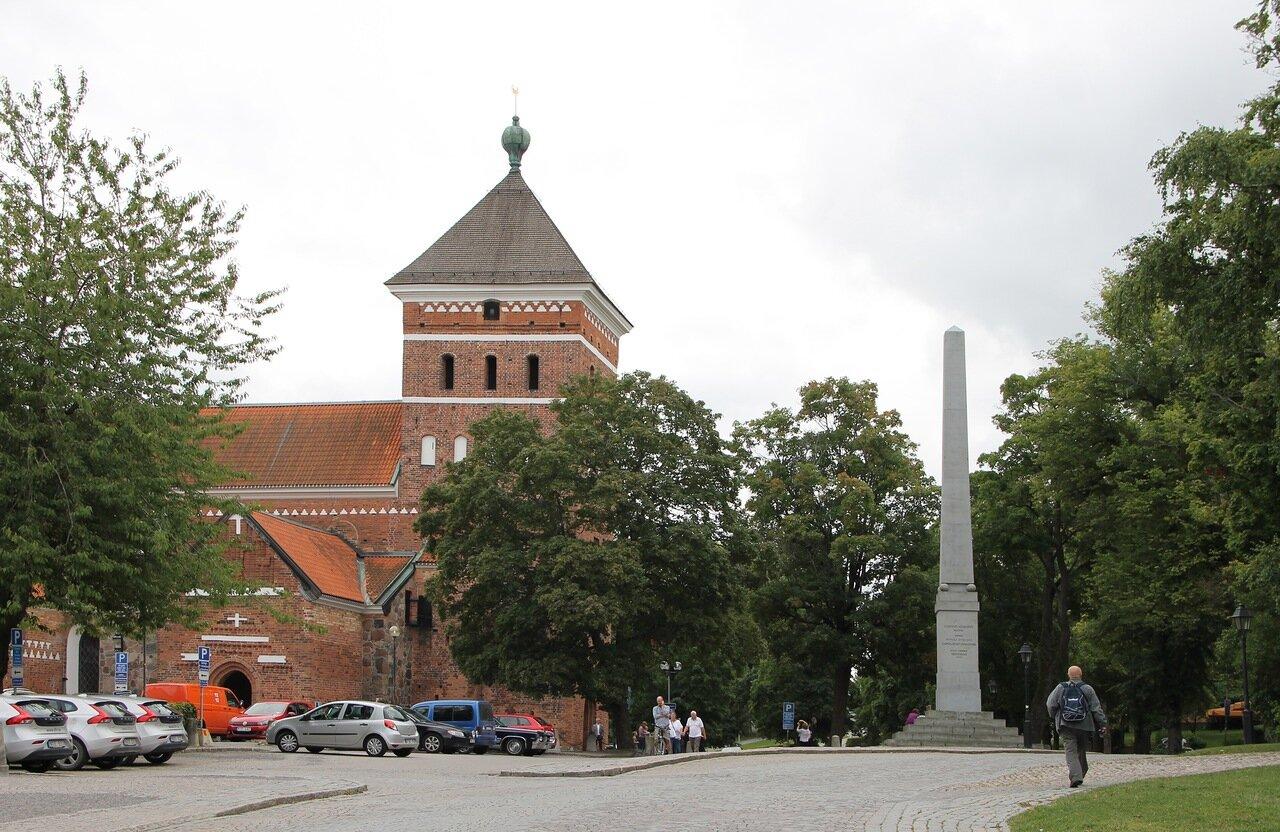 Уппсала, Церковь Святой Троицы. Helga Trefaldighets kyrka. Uppsala