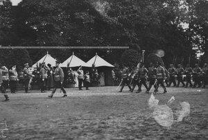 Церемониальный марш полка.