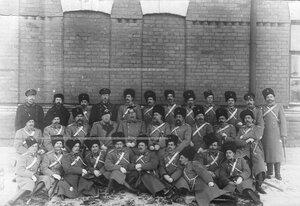 Группа офицеров полка .