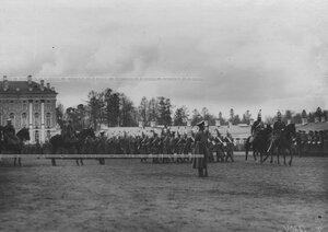 Смотр молодых солдат полка,  призыва 1912 г.