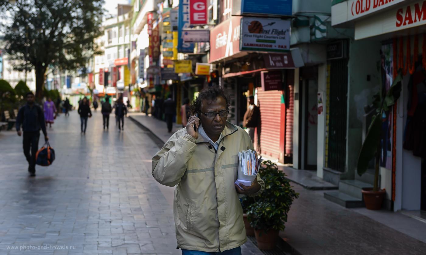 Фото 12. Страшно занятой человек. Отчет об отдыхе в Индии. 4.0, 1/640, 1000, 56.