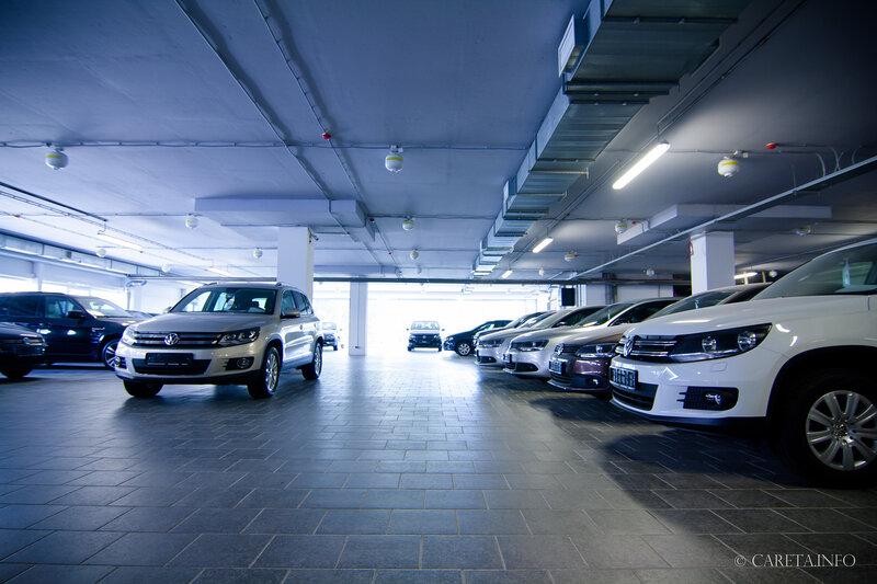 Открытие нового дилера VW в Санкт-Петербурге