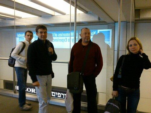 Тель-Авив. Бен Гурион. 2013.