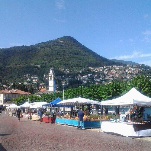 Набережная города Черноббио