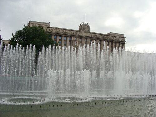 СПб. Поющие фонтаны. Московская площадь