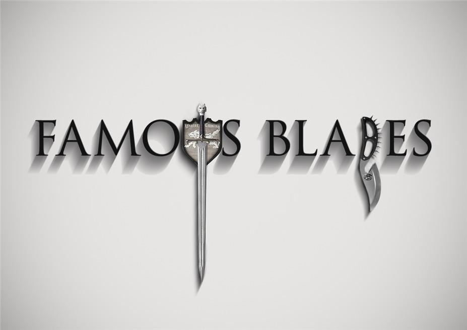 Знаменитые клинки, ножи и тесаки культовых персонажей / Famous Blades by Federico Mauro