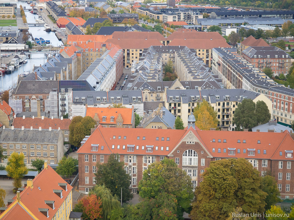 Копенгаген с высоты
