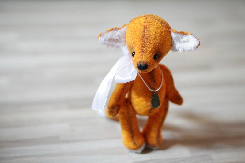 игрушка лиса