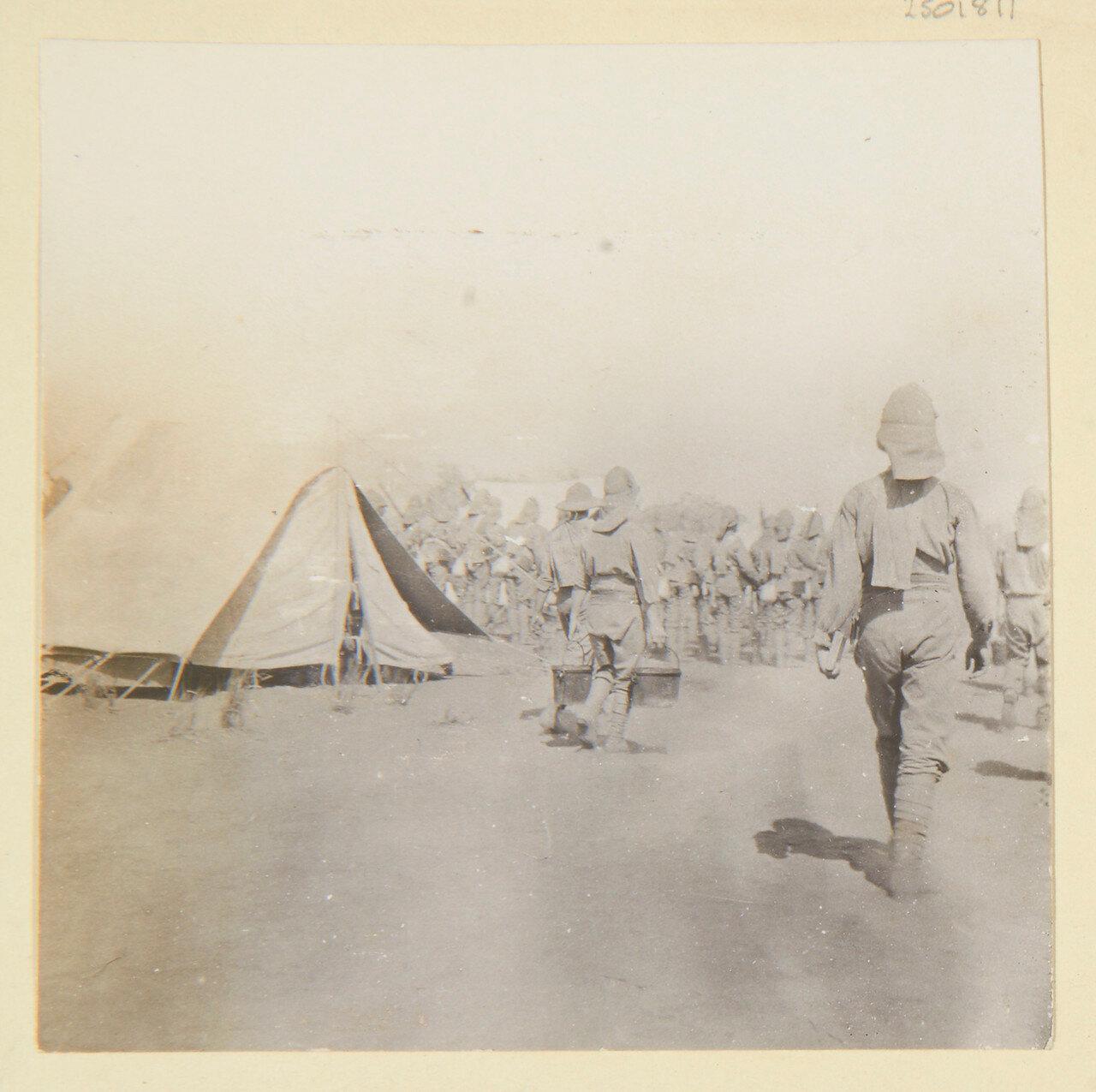 Август 1898. Лагерь гренадеров в Вад Хамиде