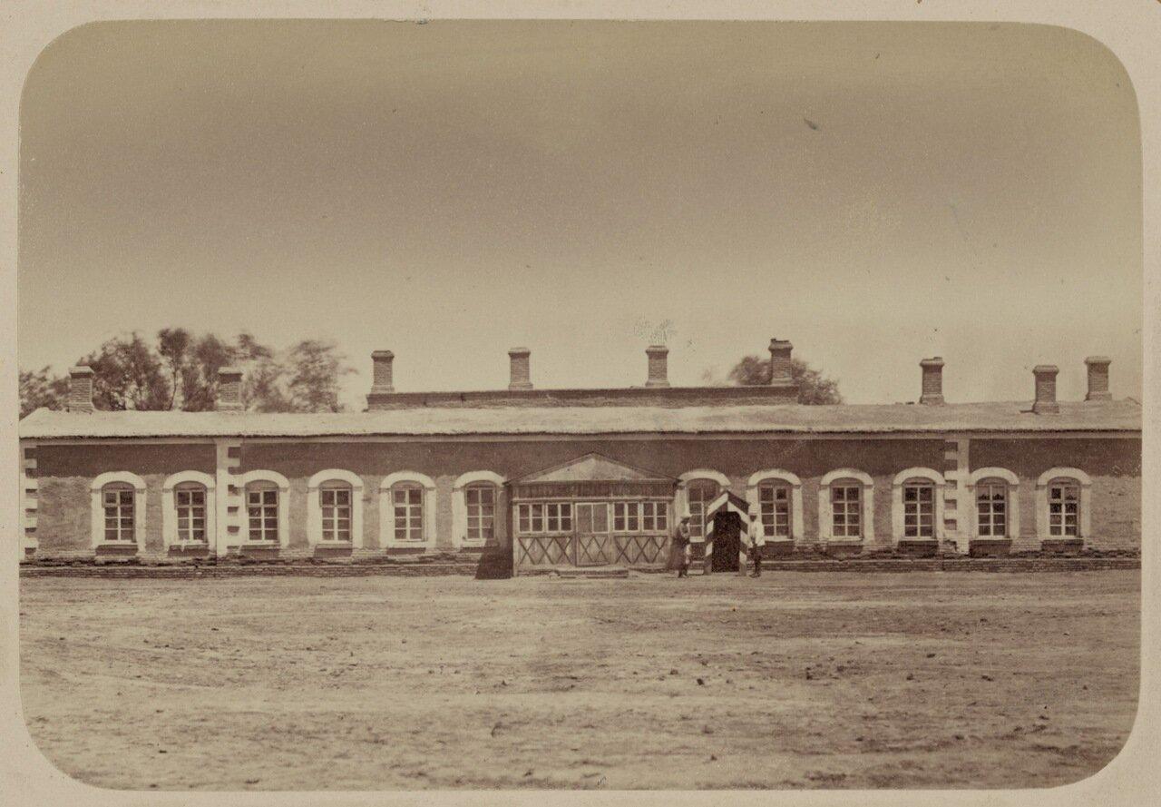 Здание, в котором генерал-майор М. Г. Черняев жил после взятия Ташкента