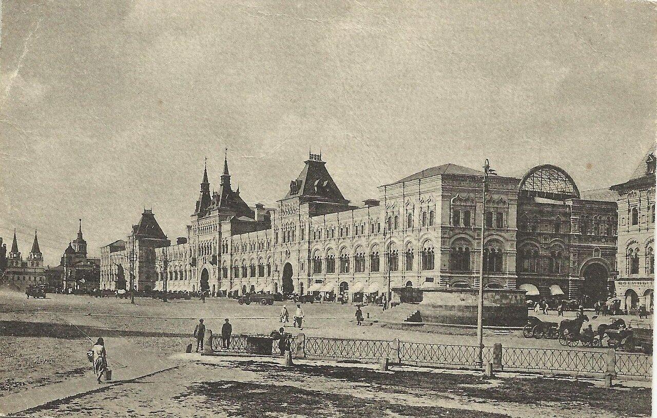 Верхние торговый ряды на Красной площади