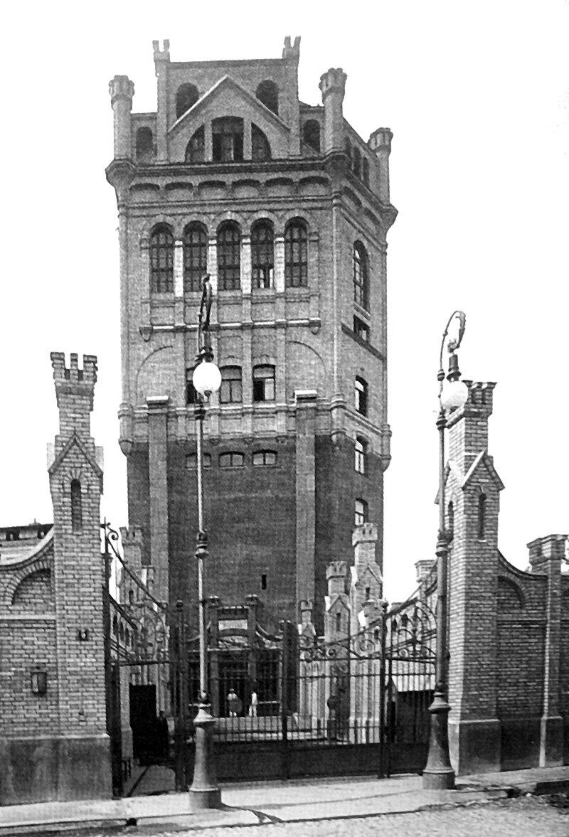 Московская телефонная станция. 1910