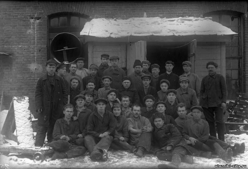 Литейный цех фабрики им. Карла Либкнехта. 1931