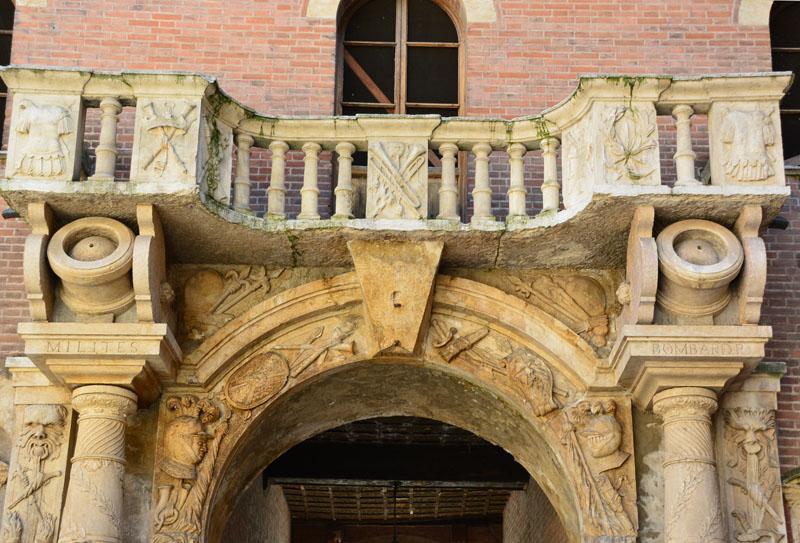 porta bombardiera, Верона