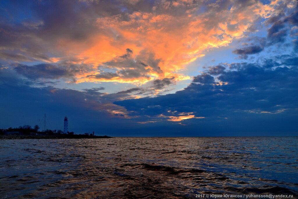 Закат у Херсонесского маяка. Не шедевр