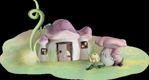 дом-гриб