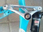 ремонт велосварка рамы Rocky Mountain Slayer в веломастерской хофобайк Hofobike