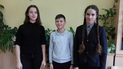 """Победитель и призёры конкурса """"Живая классика"""""""