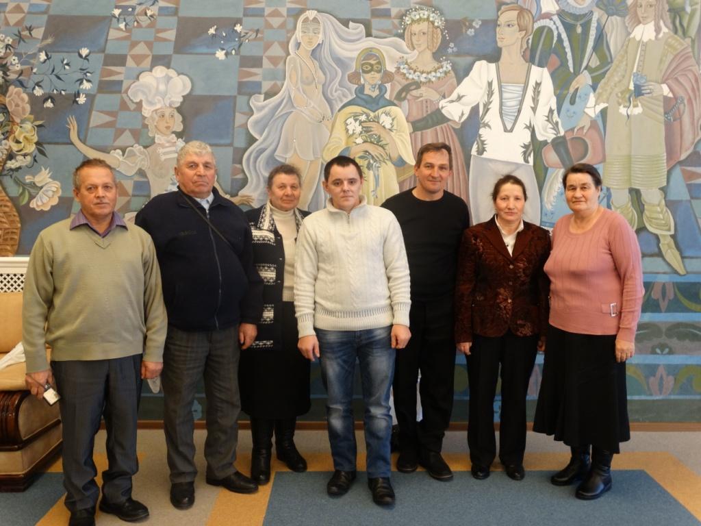 Делегация  общества инвалидов Вознесенского района на подведении конкурса Путь к успеху 2016.JPG