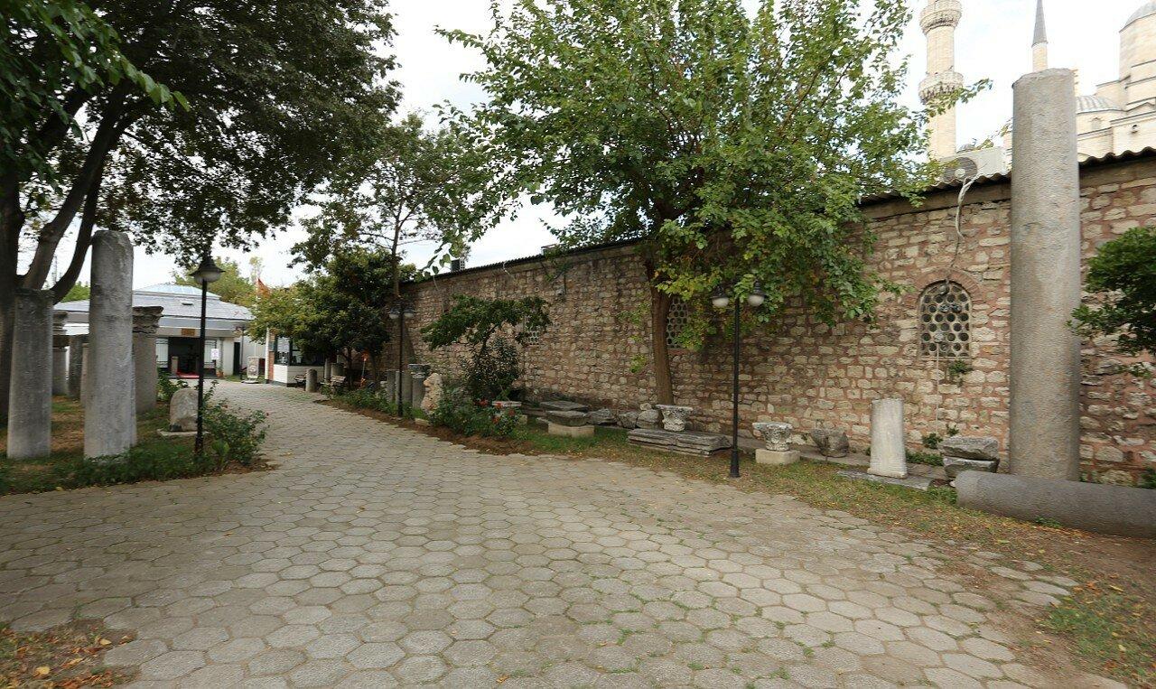 Стамбул. Музей мозаики (Mozaik Müzesi)