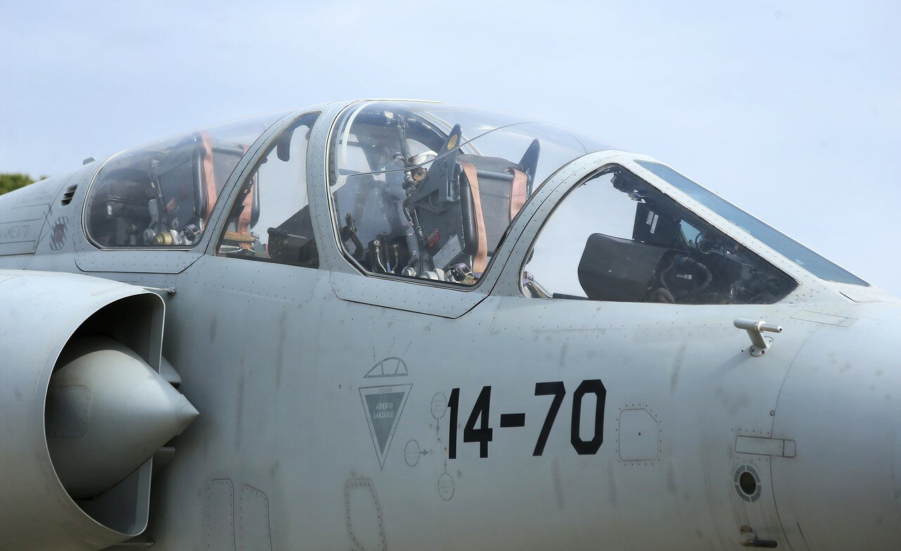 Dassault mirafe F-1B (Museo del Aire, Madrid)
