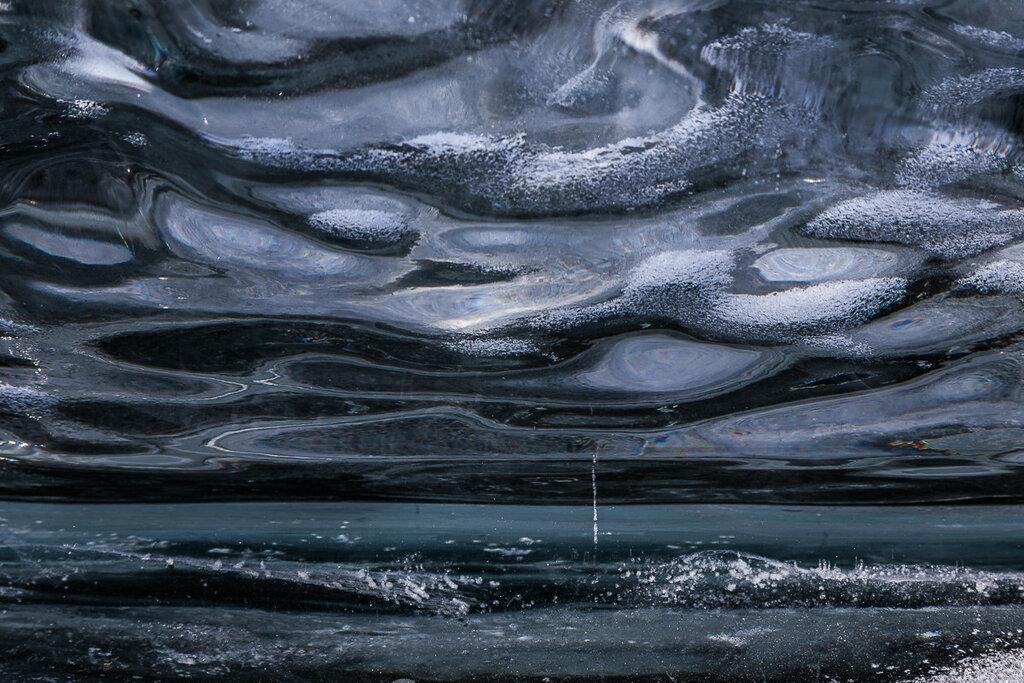 Шторм (Мир внутри байкальской льдины)