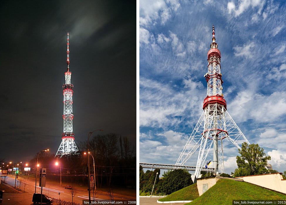 Лучший парадный вид на башню открывается с «Карандаша»: отсюда ее видно от самого основания. Те