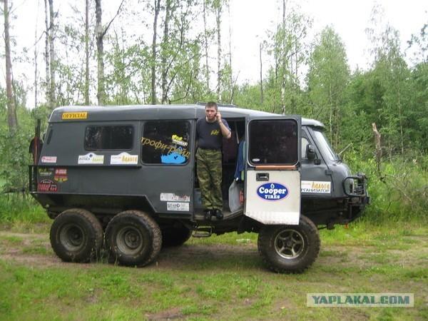 Что можно сделать из УАЗа?