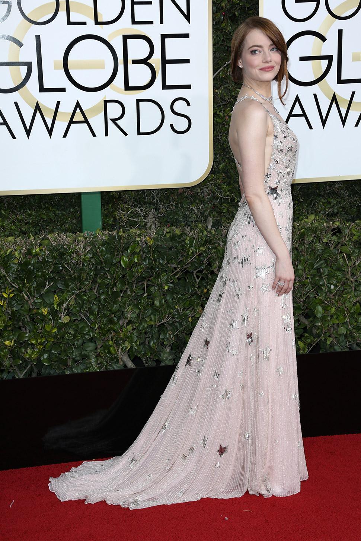 Эмма Стоун по-настоящему блистала на церемонии. И платье красивое, и приз за лучшую женскую роль в м
