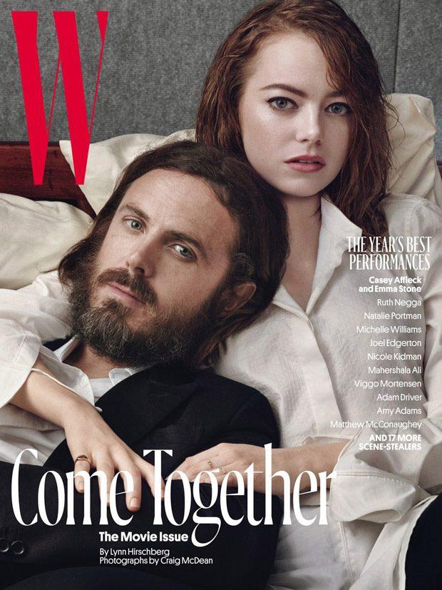 Звезды в W Magazine