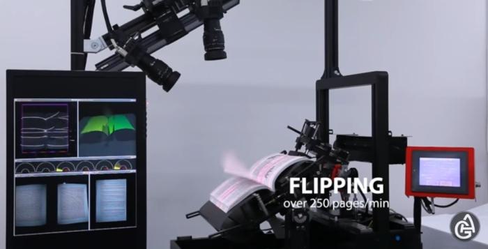 Cканер DFS-Auto: 250 страниц всего за одну минуту! Японцы создают просто невероятно количество уника