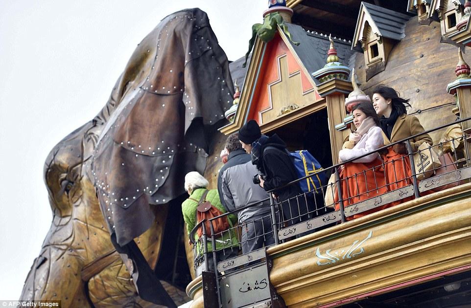 Фантастические гиганты – парк аттракционов «Машины острова Нант»