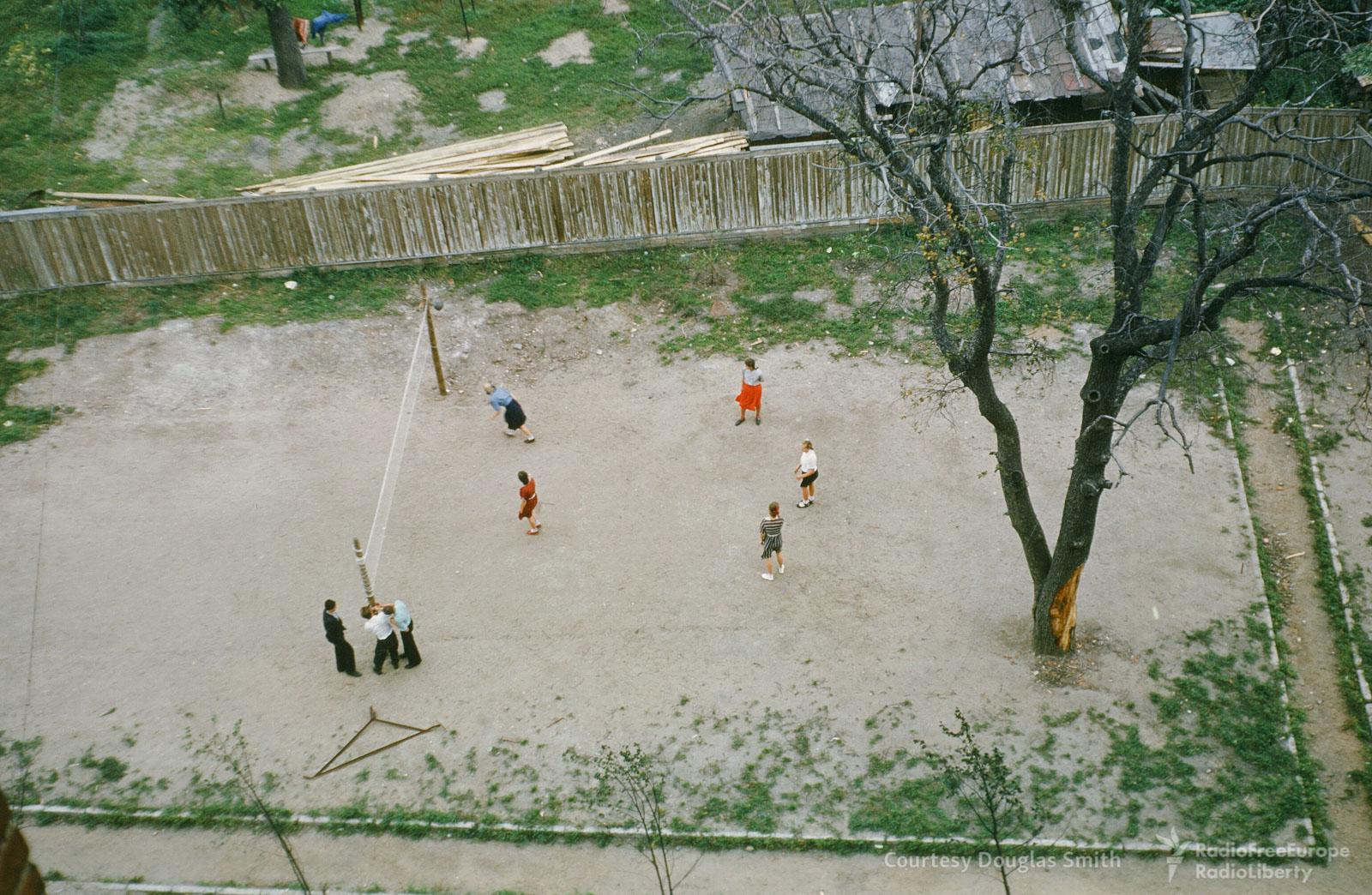 Волейбольный матч. Таганский район.