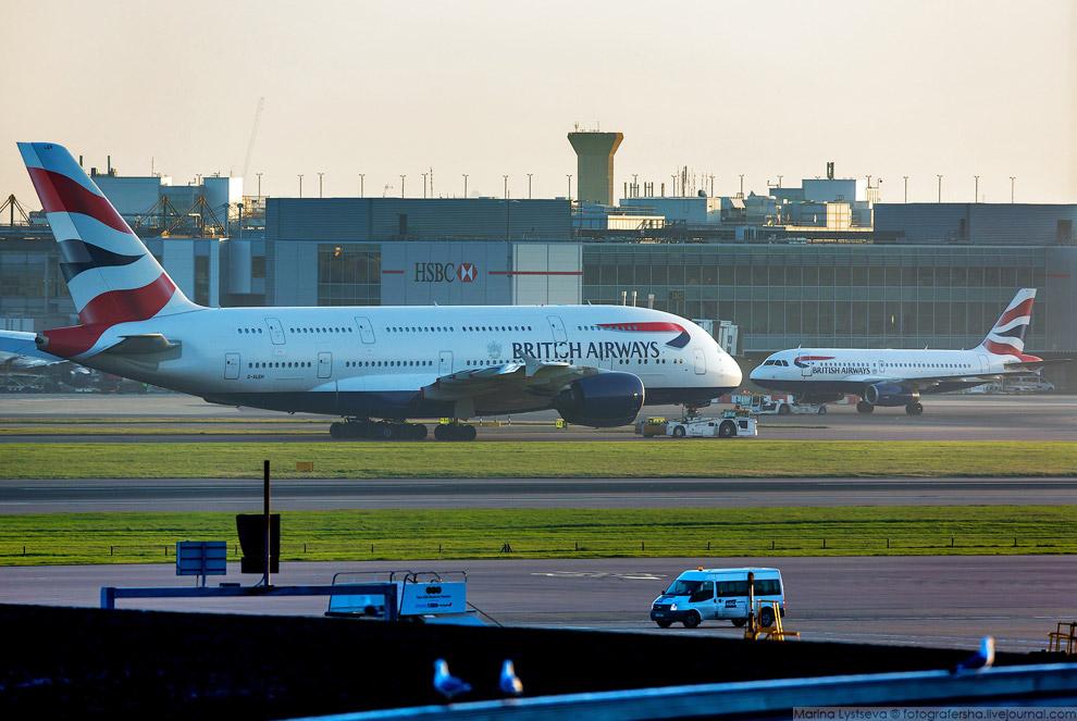 29. British Airways эксплуатирует 12 даблпланов по девяти направлениям из Лондона: Гонконг, Йох