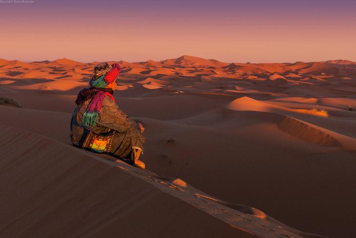 Большое путешествие по Марокко: холодный песок Мерзуги (29 фото)