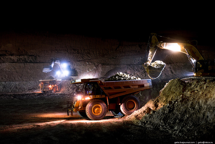 Добыча золота в Африке, России и Казахстане (64 фото)