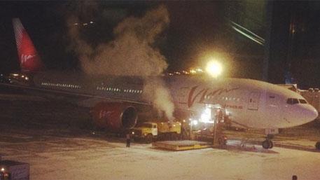 Ваэропорту Благовещенска получил повреждения самолет, прибывший из столицы