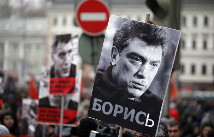 Вцентральной части Москвы перекроют движение из-за «Марша памяти Бориса Немцова»