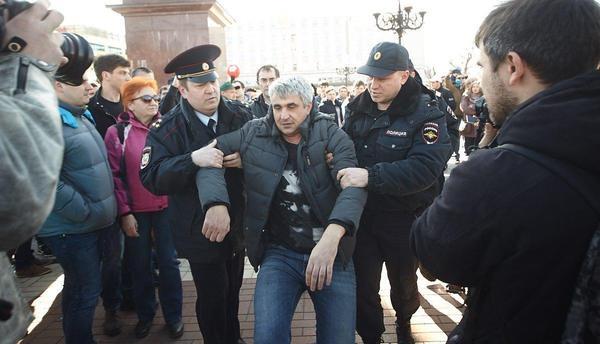 Митинги против выдвижения В. Путина навыборы согласовали в11 городахРФ