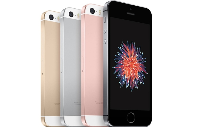 В РФ заметно упал вцене iPhoneSE
