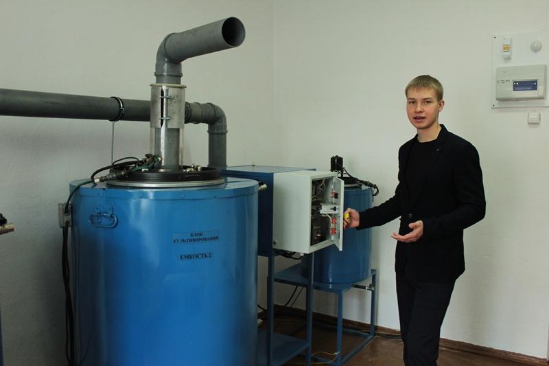 Томские ученые создали биореактор для производства кормовых добавок изводорослей