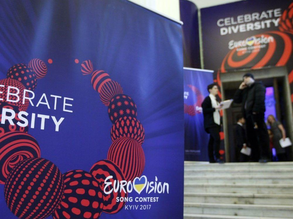 ВКиеве участники Евровидения провели свои первые репетиции