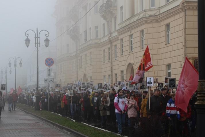 Вряды «Бессмертного полка» встало 115 тыс. нижегородцев