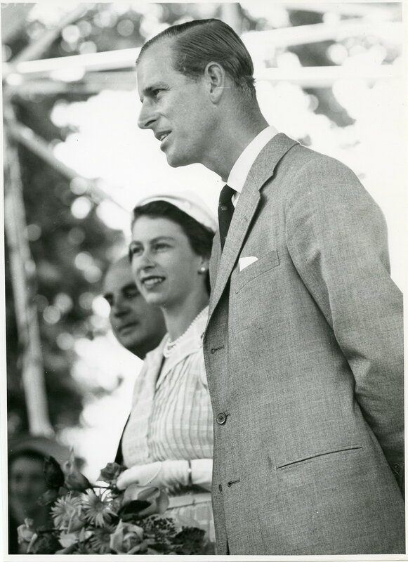 Prince Philip, Duke of Edinburgh, Cambridge, Waikato, january 1 1954